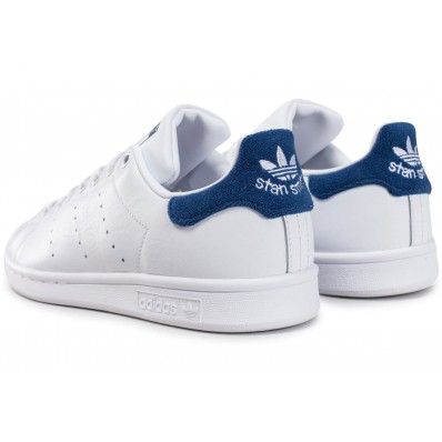 adidas stan smith 2 blanc bleu