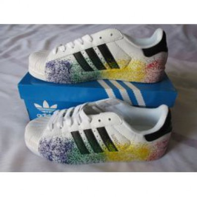 adidas superstar arc en ciel