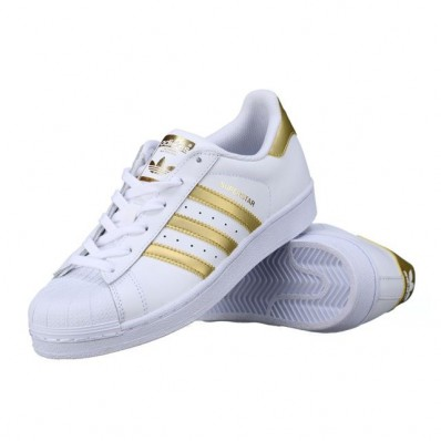 adidas superstar en or
