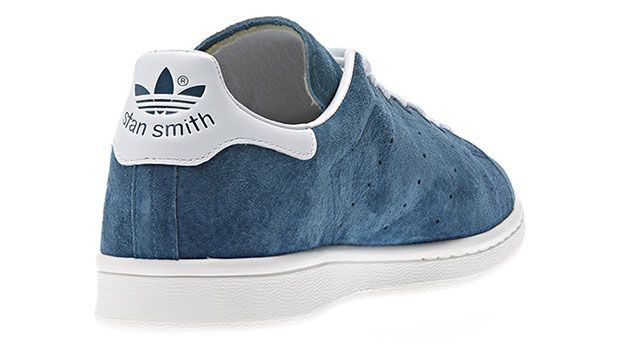 stan smith en daim bleu