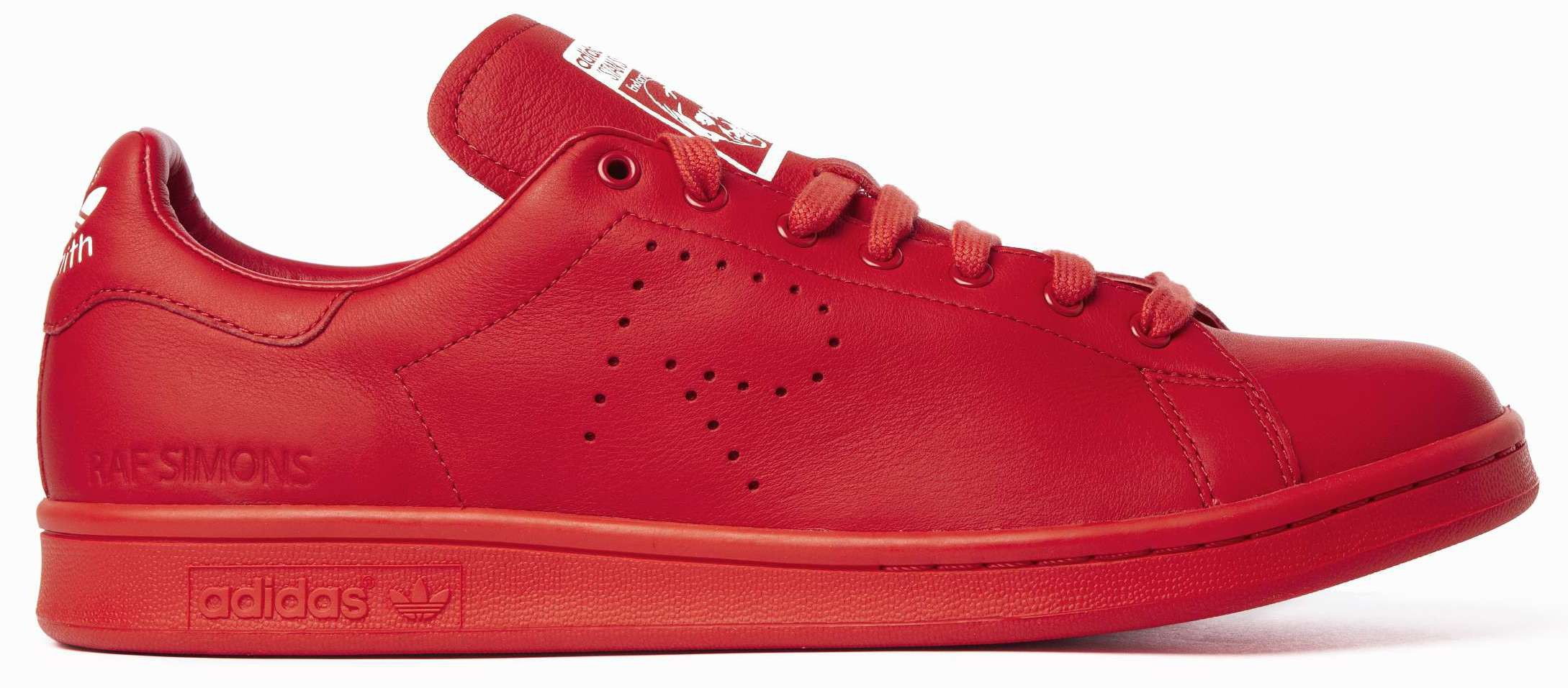 stan smith homme rouge