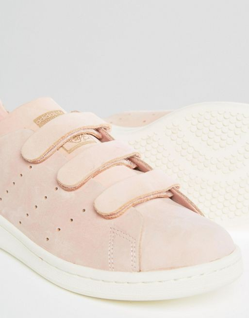 Stan Smith en nubuck Rose by ADIDAS   Shoes   Chaussure