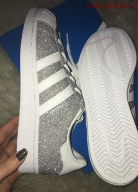 adidas superstar à paillettes