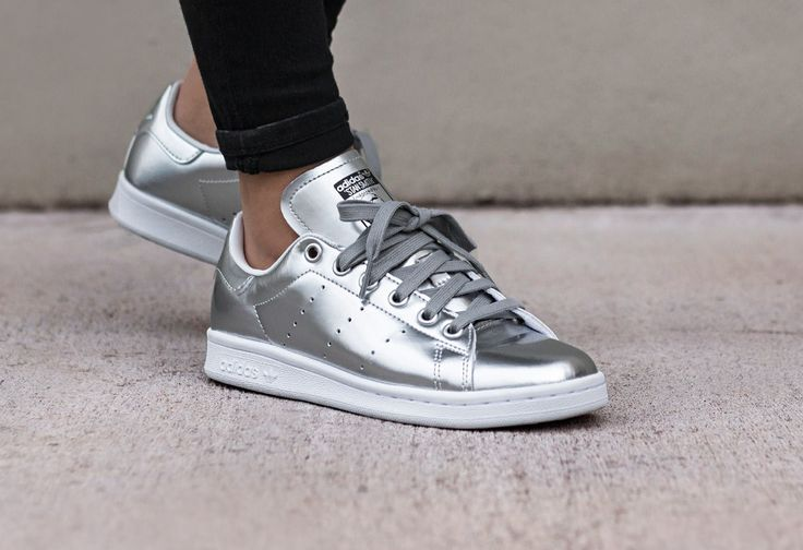 adidas stan smith argent femme