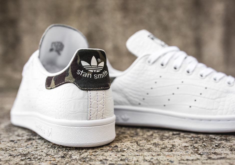 stan smith adidas croco