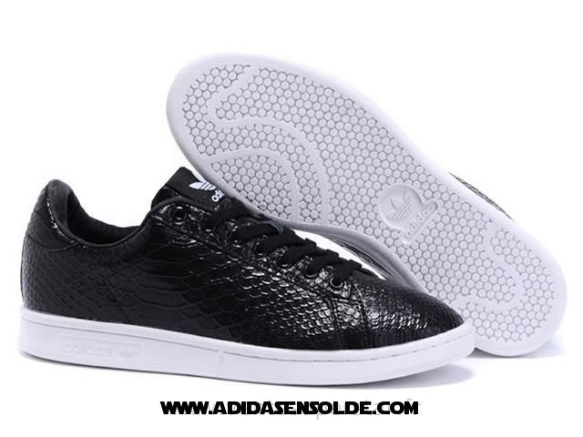 adidas stan smith noir solde