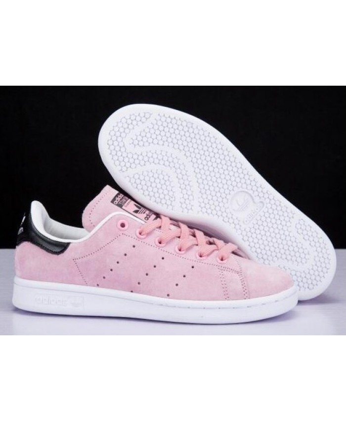 stan smith rose clair femme