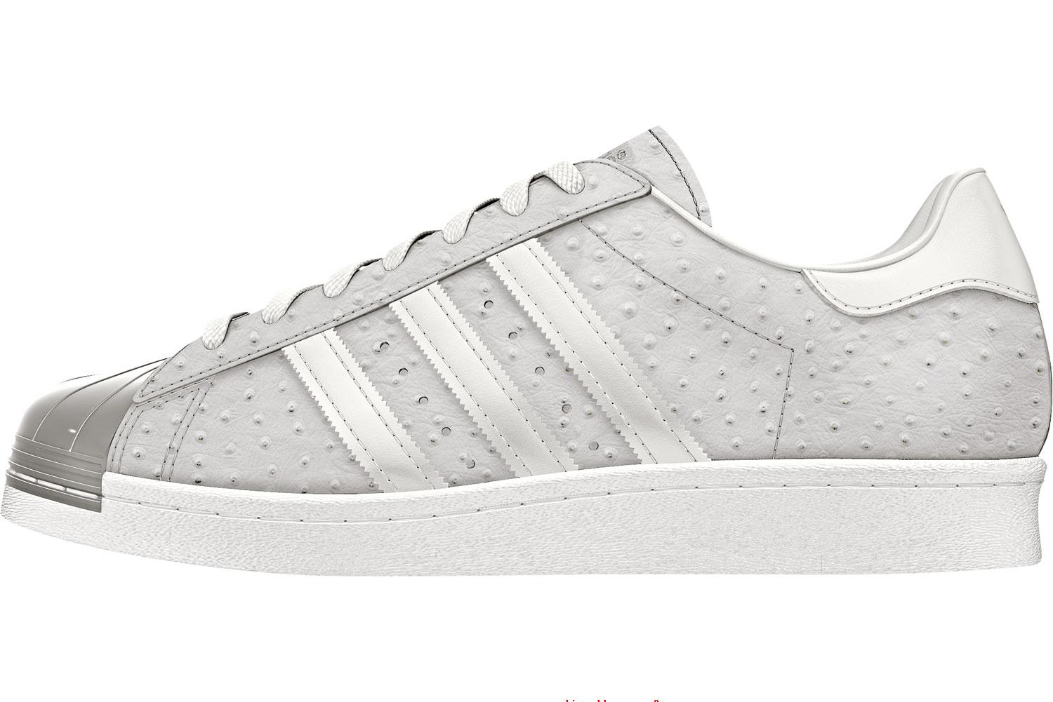 Toe Superstar Adidas 80s W Chaussures XZPkiuTO